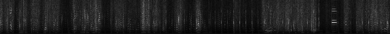 Spectrogram of WWV signal…