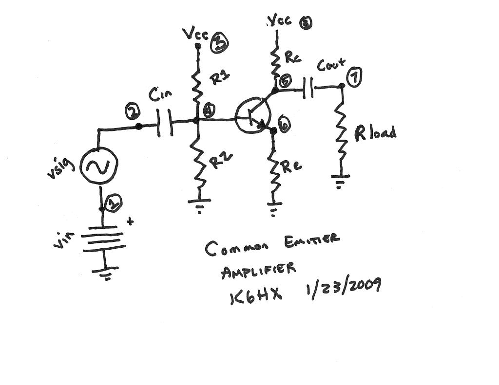 common emitter amplifier design using ngspice u2026  u2013 brainwagon