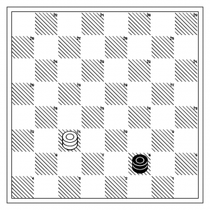 What should the score be, with red to move?