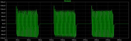 NT7S Code Practice Oscillator Waveform