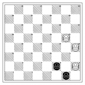 Either side to play, white to win...