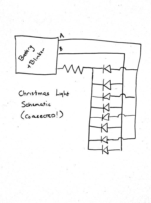 Brainwagon  U00bb Correction  Schematic For   99 Christmas Lights