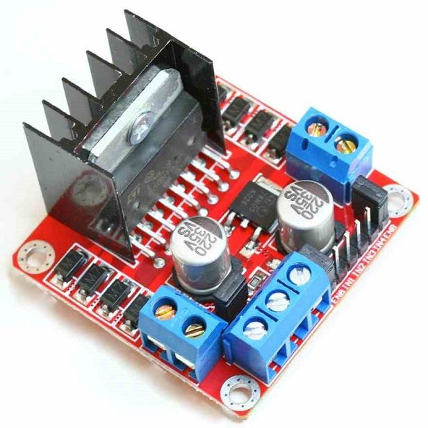 Experiments with an L298 DC motor control module